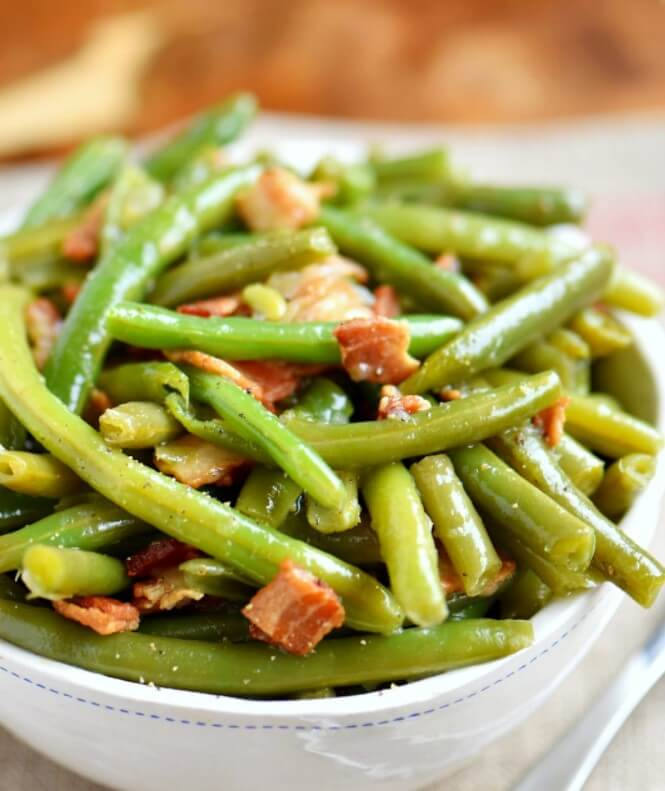 Asian flair with stir-fry string beans
