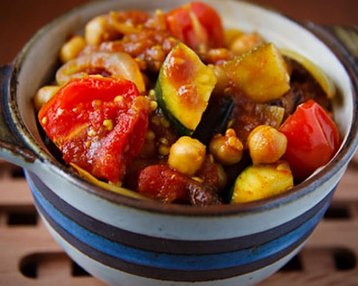 Tunisian Vegetable Ragout with Quinoa for Veggie Lovers