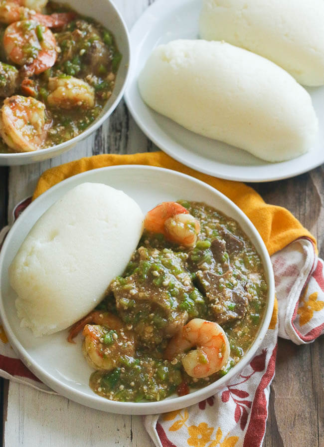 Cornmeal side dish, ugali