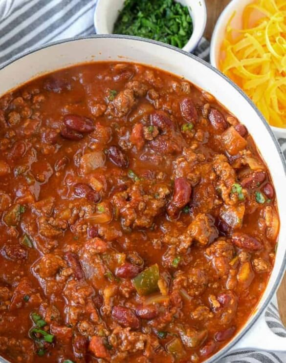 Chili for A Fiery Combination