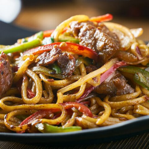 Homemade Beef chow mein recipe