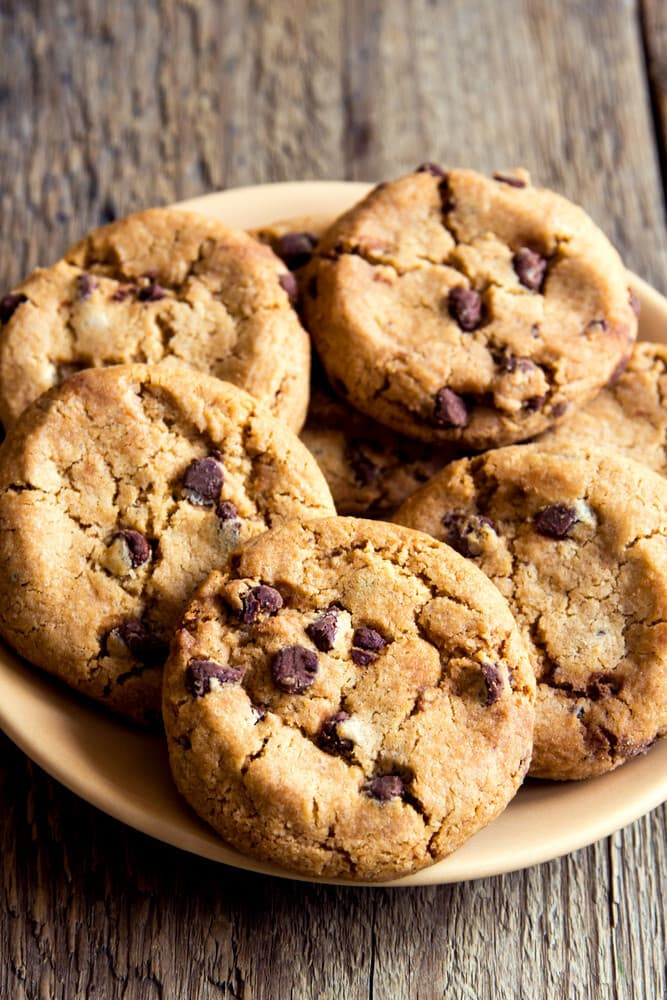 Can oil be used for the cookie dough instead of butter